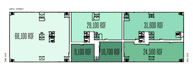 Sub-Divided Floor Plan